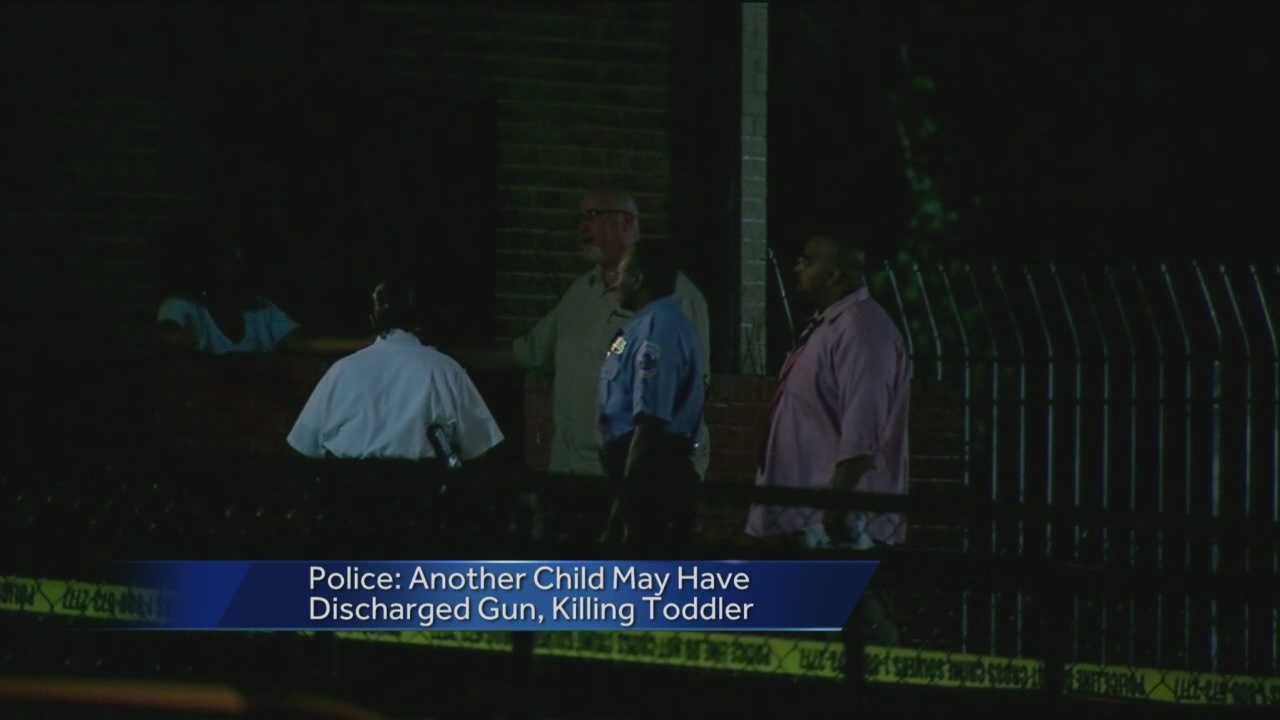 Police say a 3-year-old girl has been fatally shot in southeast Washington and preliminary information shows that another child may have been playing with a gun when it discharged, striking the girl.