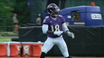 Ravens wide receiver Breshad Perriman