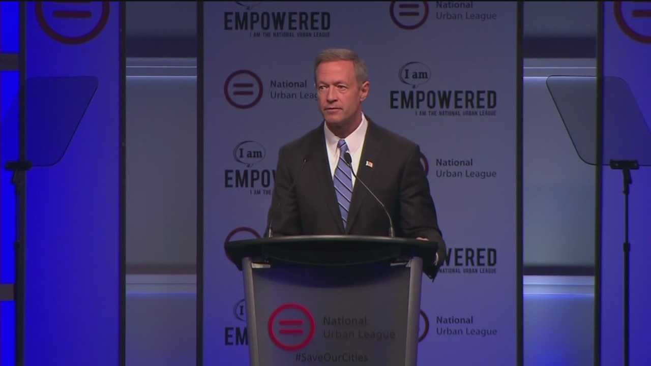 Long-shot presidential candidate Martin O'Malley on Friday proposed getting the federal government more involved in local policing practices.