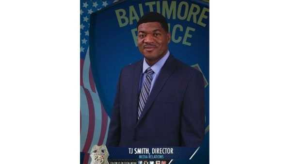 Baltimore Police Department hires new director of media relations T.J. Smith. He'll start the new post on Aug. 10.