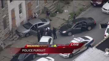 Police pursuit story | Video as it aired live on 11 News