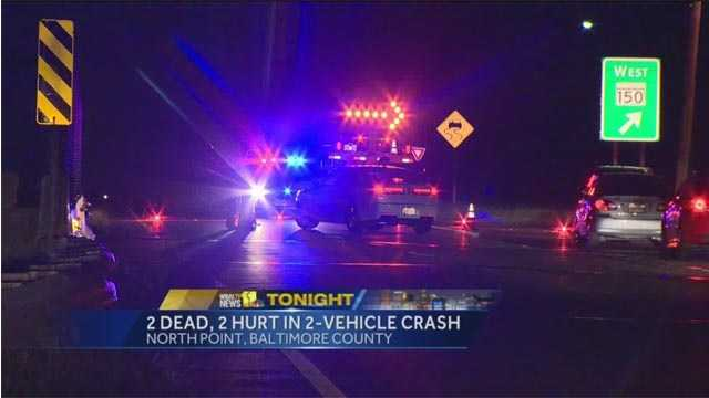 Two people were killed and two others injured in a fatal crash in North Point.