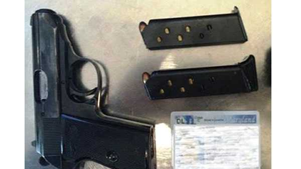 TSA officers at BWI detected this 9mm gun in a traveler's carry-on bag on Aug. 6, 2015.