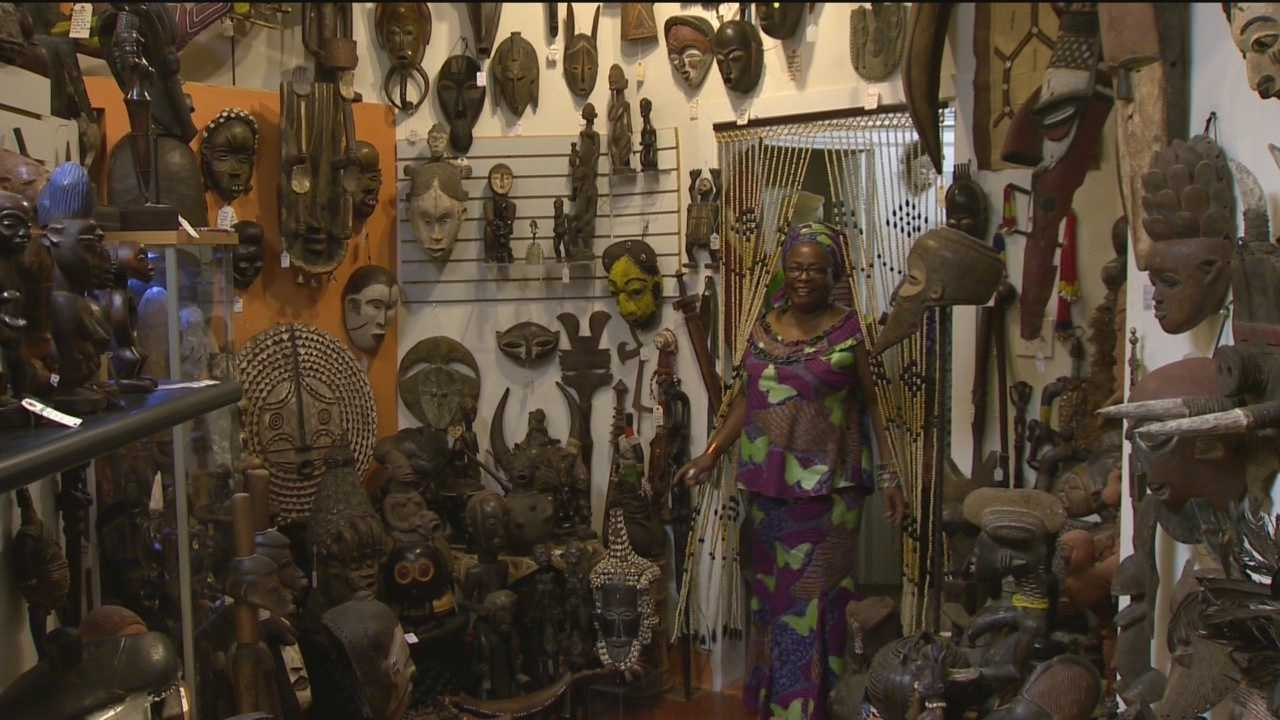 A Baltimore businesswoman is holding a special contest. Ester Armstrong goes by many names: Mama Esther, Queen Esther, even Mama Kiki. The Sankofa African & World in Charles Village is her store. It's the type of effort she hopes will remain there. That's why rather than selling her store, she's holding a contest. The winner will receive the whole establishment. Armstrong said her reason is so she can be closer to her family in Ghana. The name of the story comes from the Sankofa bird, which symbolizes learn