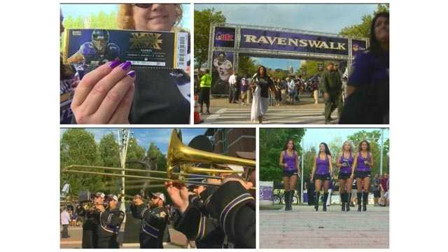 Everyone from fans to the marching band to the cheerleaders were excited Thursday as the Ravens opened up its 2015 preseason schedule.