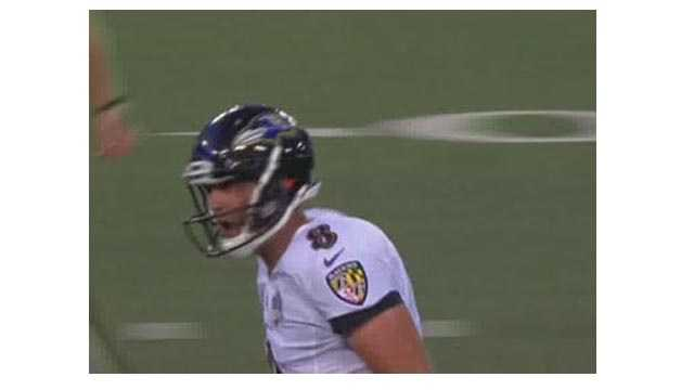 Ravens quarterback Matt Schaub completed 11-of-18 passes for 134 yards, a touchdown and an interception in the team's 30-27 preseason victory over the New Orleans Saints.