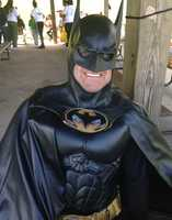 Len Robinson spent years traveling across the country as Batman.