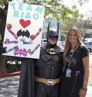 Len Robinson, who portrayed Batman to sick kids in hospitals, was 51 when he died in an accident in western Maryland.