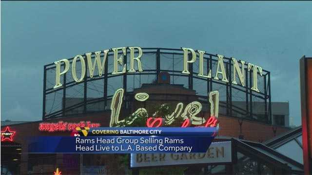 Rams Head Live, located in the Power Plant complex in the Inner Harbor, was sold to AEG.