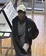 The FBI said this man is responsible for robbing six Baltimore cell phone stores.