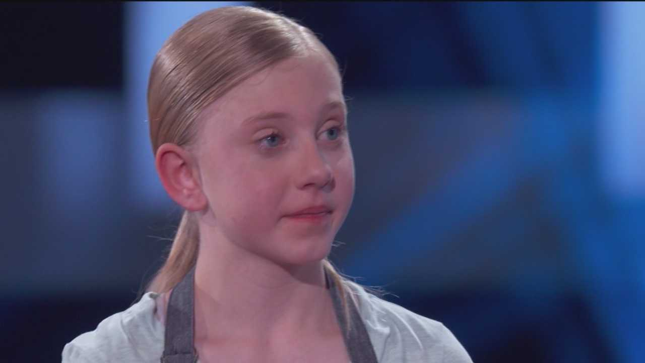 "Danielle McNerney doesn't just eat healthy, she cooks that way, too. The 12-year-old from Frederick County will prove it when she appears as a child contestant on ""Food Fighters,"" which is set to air at 8 p.m. Thursday on WBAL-TV."