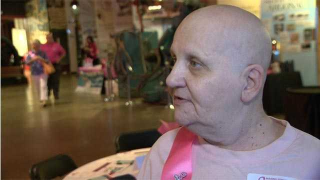 Anna Renault, of Essex, has battled cancer nine times and is an advocate for cancer research.