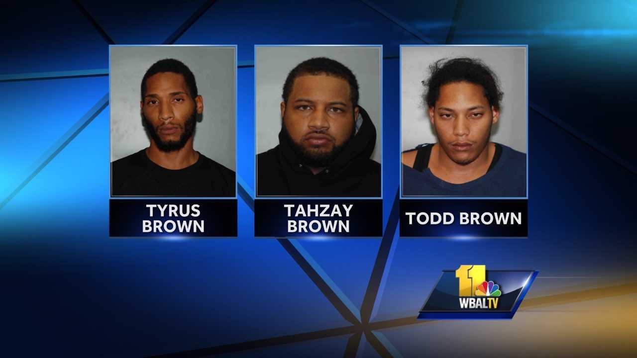 Tyrus Brown, Tahzay Brown, Todd Brown