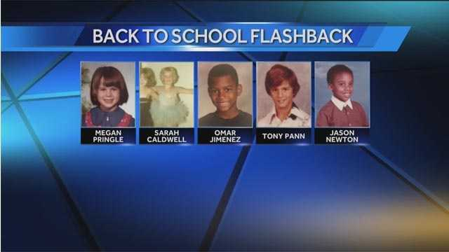 Member of the WBAL-TV 11 News team shared some of their favorite back to school photos.