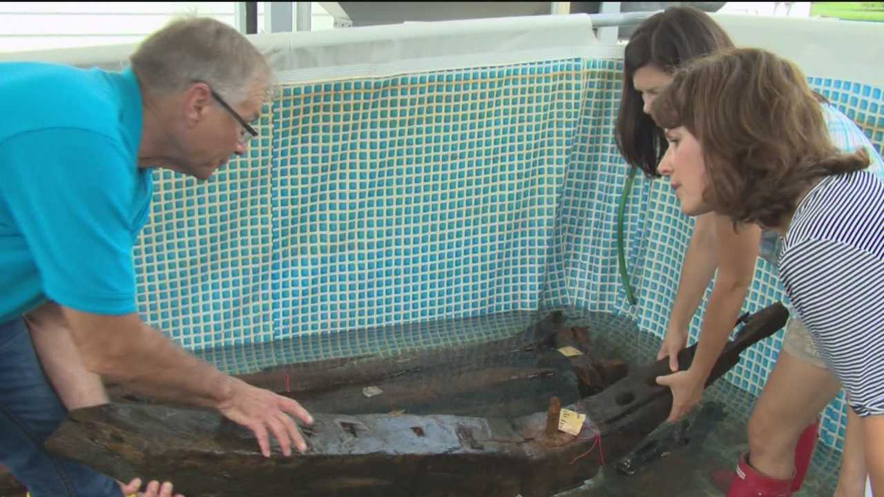 "State archaeologists are analyzing the oldest Maryland-built shipwreck found on the lower Eastern Shore. In the historic, tiny town of Vienna, Dorchester County, Maryland's former self has been found buried in sediment and has come to the surface to answer long-held questions. ""The day you find a shipwreck in Maryland waters is a momentous occasion. It doesn't get much better than this,"" said Julie Schablitsky, chief archaeologist with the State Highway Administration."