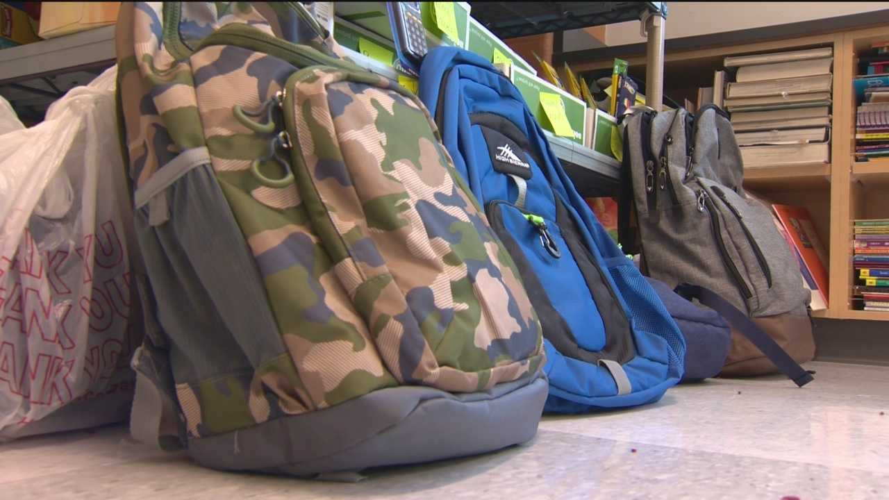 Thanks to the effort of teacher Kat Brous-Whye, many students at Waverly Elementary-Middle School in north Baltimore will be getting new backpacks and school supplies for free in time for the first day of classes Monday in the city.