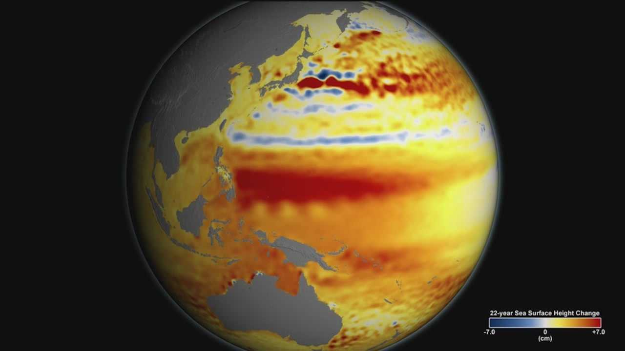 NASA scientists said rising sea levels are happening primarily because of melting ice sheets.