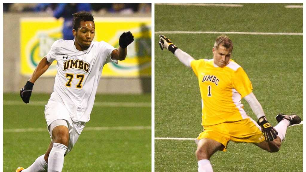 UMBC midfielder Malcolm Harris and goalie Billy Heavner are among 16 returning players for the Retrievers in 2015