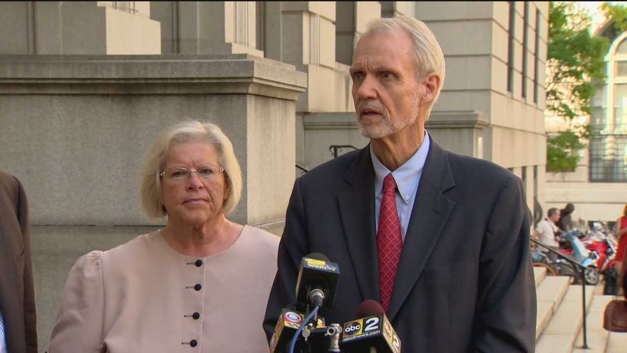 Former Maryland Episcopal Bishop Heather Cook pleaded guilty Tuesday in the 2014 death of a bicyclist. Cook, 58, pleaded guilty to auto manslaughter, driving while intoxicated, driving while texting and leaving the scene of an accident. In court Tuesday afternoon, Cook admitted she was drunk and distracted when she hit and killed bicyclist Thomas Palermo last December.