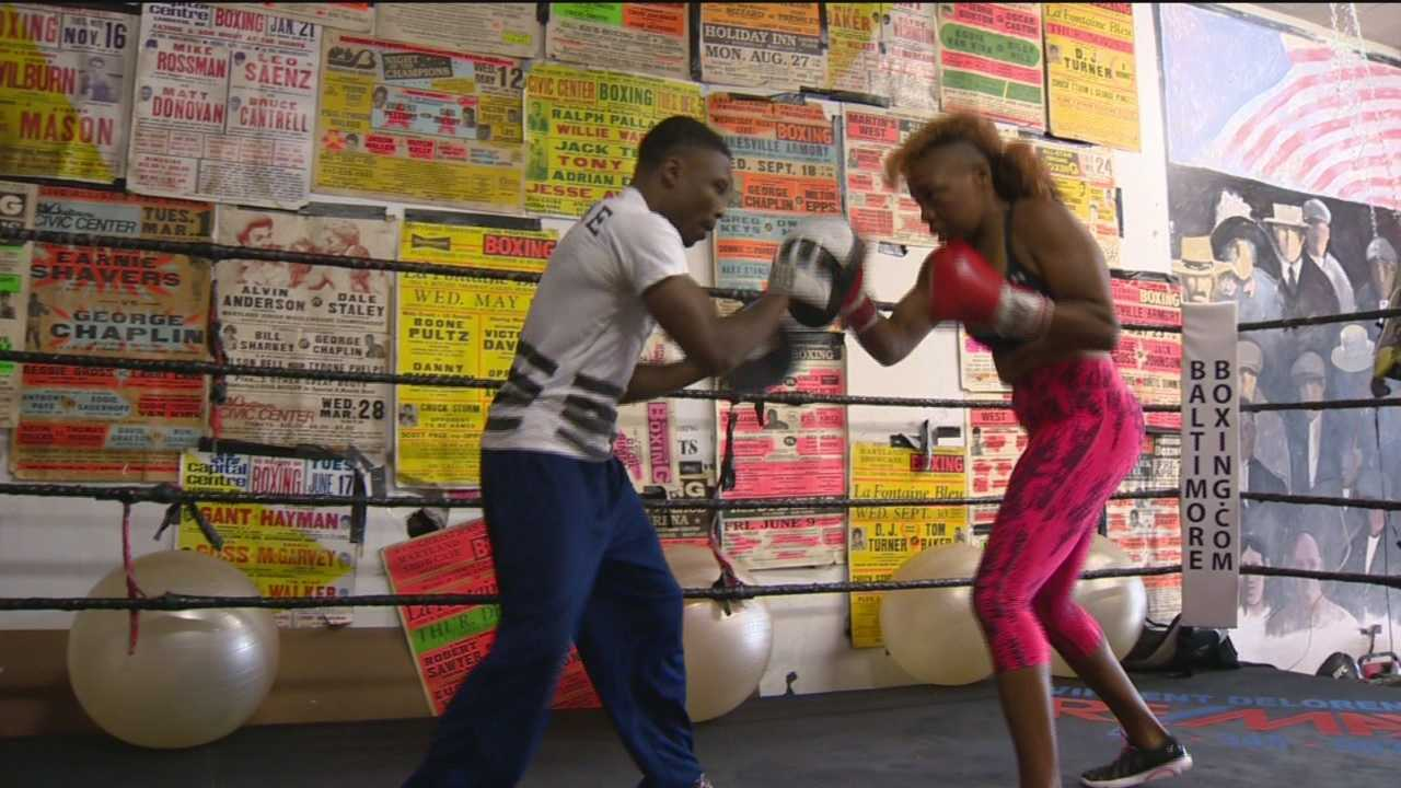 On Friday, some of the toughest fighters around will step into the ring in downtown Baltimore trying to qualify for the Olympics. They may not look like the fighters you're used to seeing: they're women.