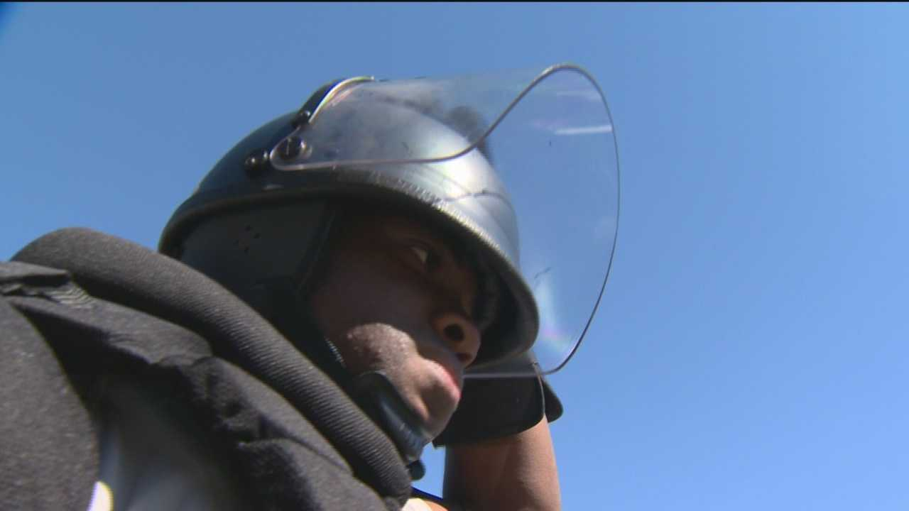 Police tell the 11 News I-Team that the new riot gear is dramatically different from what they relied on during April's violence in Baltimore.