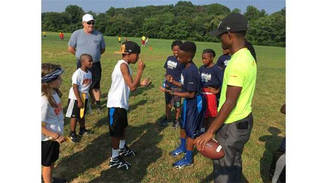 Baltimore Social will kick off its flag football league for youth, ages,6-11, Tuesday atHerring Run Rec Center.