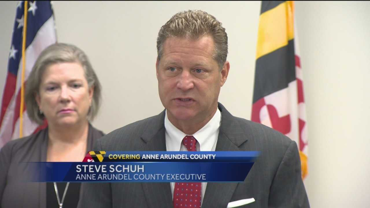 County Executive Steve Schuh today unveiled legislation disallowing the growing, processing, and dispensing of marijuana in Anne Arundel County. The proposal comes after weeks of hearing input from various community, health, legal, public safety, and faith leaders around the County.