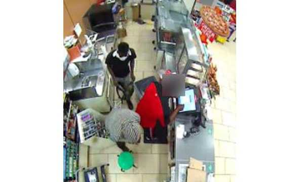The Baltimore FBI Violent Crimes Task Force is asking for help to identify two men who robbed the store at 415 West Franklin St. on Aug. 31.