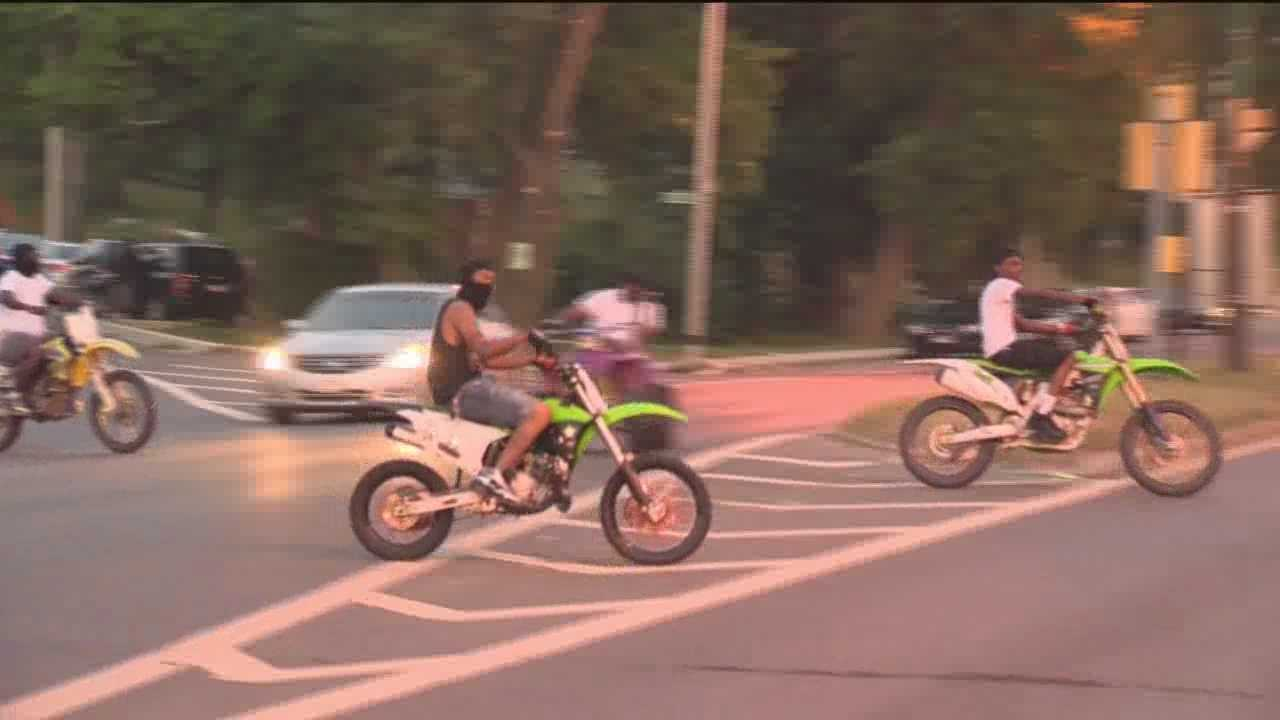 While traffic calming devices and increased police along Reisterstown Road have helped reduce the problems surrounding illegal dirt bike riding in Baltimore, the city continues to search for long-term solutions to the problems. This includes the possibility of building a dirt bike park.