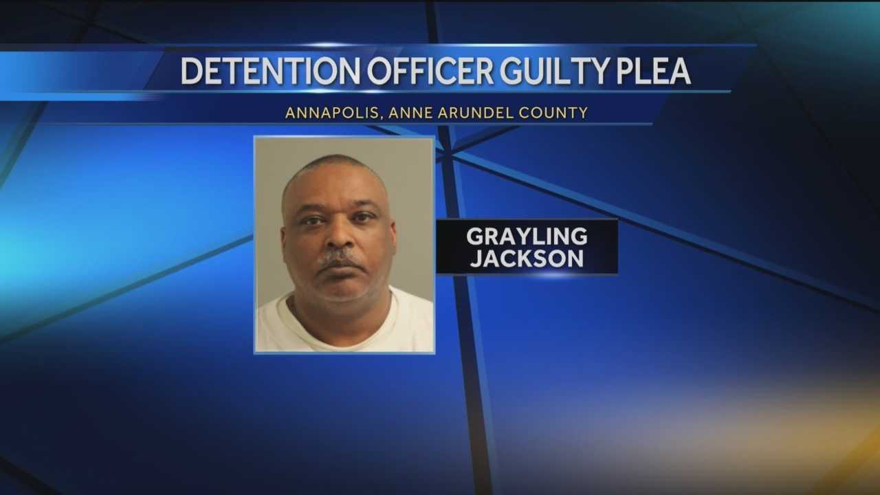 Grayling Jackson, 59, a former Anne Arundel County correctional officer, has pleaded guilty to his role in a smuggling scheme that involved bringing contraband into the jail.