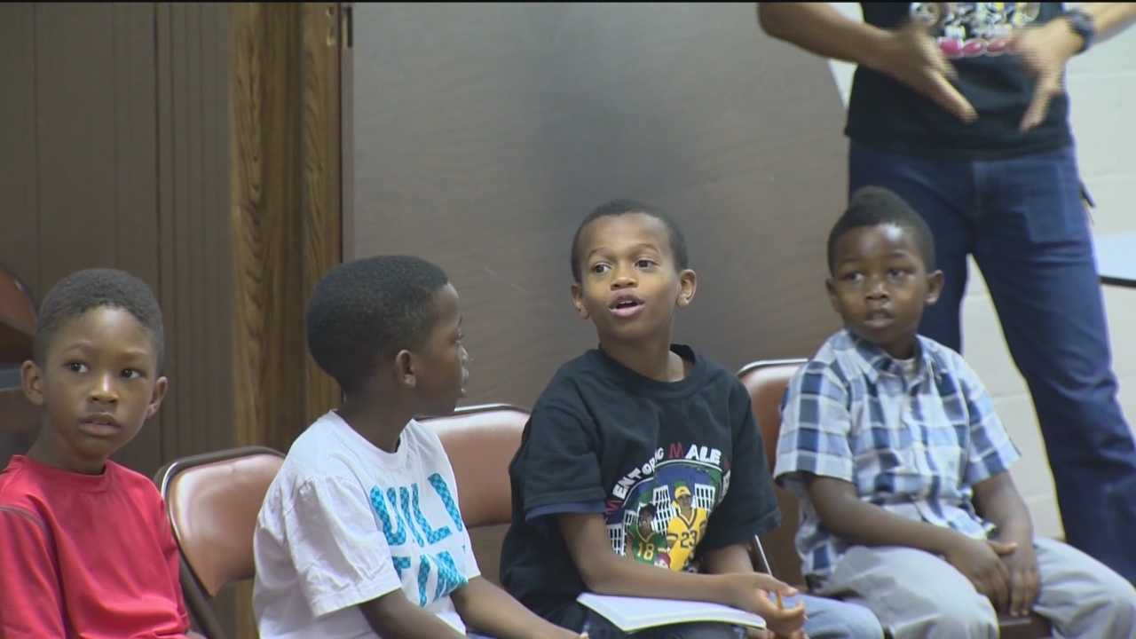 This past weekend 11 News spent time at New Shiloh Baptist Church where on the first and third Saturdays of the month mothers, fathers and grandparents are bringing their young boys to a program that simply put is life-saving.