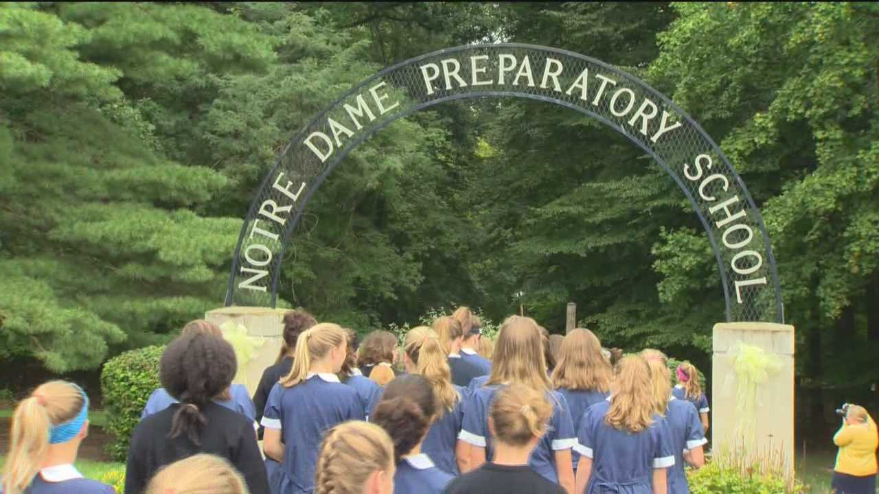 While Pope Francis won't be making a stop in Baltimore, one Towson prep school is doing its part to welcome him to the U.S.