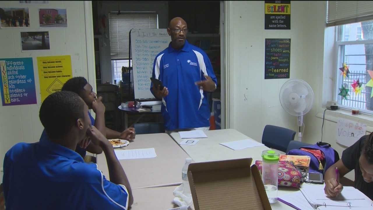 As with most coaches, when Waverly Carter speaks, people listen. Carter directs the youth program at Banner Neighborhoods in Baltimore City. It's clear that Carter -- part mentor, part friend, part father-figure -- cares very much about his young people. He spends his afternoons and evenings hoping to reach as many kids as possible.