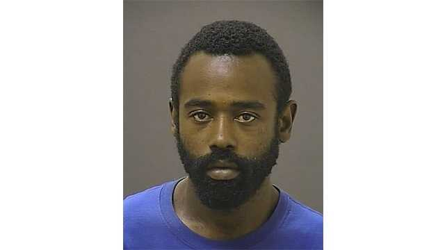 Donnell Barksdale, 25, of Baltimore, was arrested for burglary and police are investigating into whether he is linked to six other break-ins in the area.