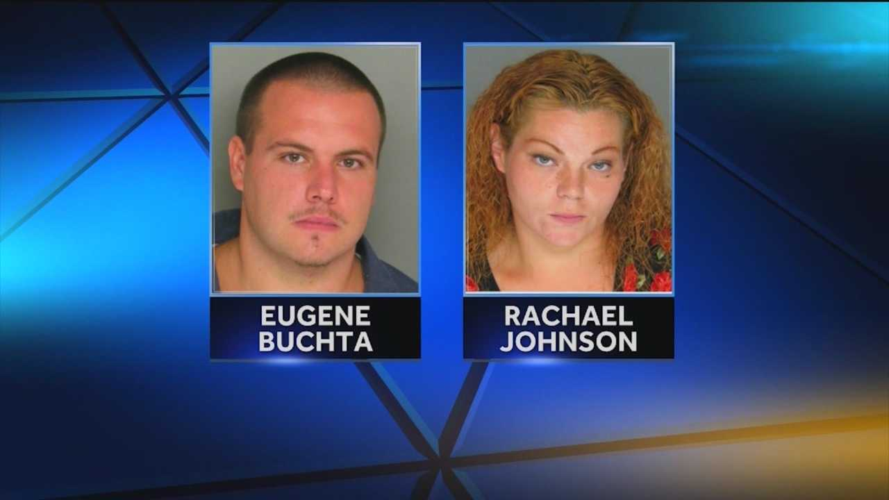 Two people have been indicted by a Baltimore County grand jury in connection with the death of their 1-month-old son in July, county police said. Eugene Joseph Buchta and Rachael Anne Johnson, both 25, have been charged with first-degree child abuse and related charges.