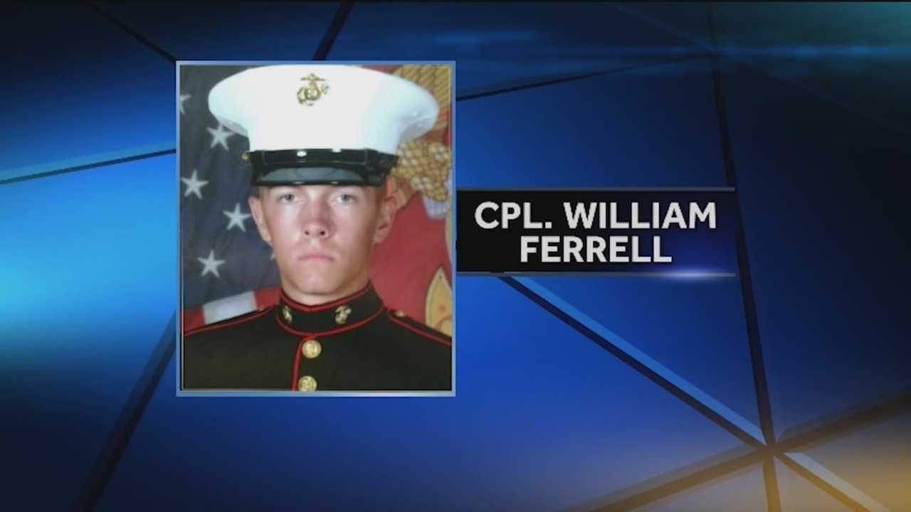 A Marine was struck and killed Tuesday night in a hit-and-run accident after helping a stranded motorist in Thurmont, Maryland State Police said.