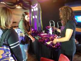 Free salon at section 236 for A Purple Evening.