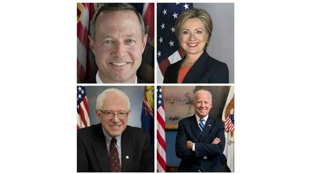 According to the latest Goucher College poll, former Secretary of State Hillary Clinton hold a commanding lead in the race to win the Maryland Democratic presidential primary. If the election were held today, Clinton would be followed by Vice President Joe Biden, Sen. Bernie Sanders and former Gov. Martin O'Malley.