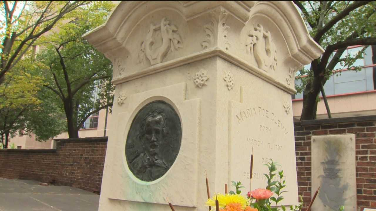 On the anniversary of his death, flowers lay atop the tombstone of Edgar Allen Poe. But in the graveyard of Westminster Hall, a mystery remains about a birthday tradition started in the 1940s. Each year, a man who became known as the Poe toaster would leave three roses and an expensive bottle of cognac.