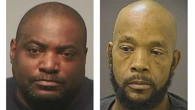 Nathaniel Knox (left), Alphonso Branch (right)
