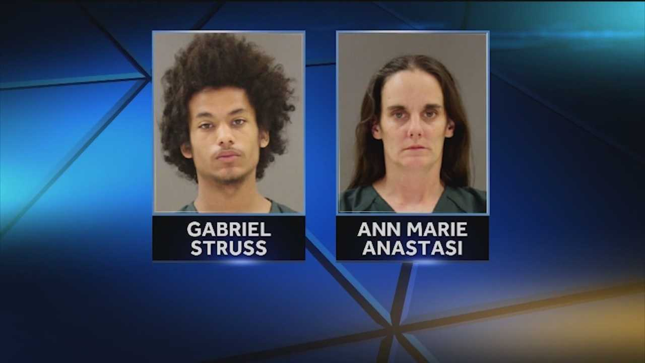 Police charge a woman, a 13-year-old girl and her 18-year-old boyfriend with murder in the slayings of two people earlier this month in Lothian. Anne Arundel County police said Ann Marie Anastasi was charged with first- and second-degree murder, and the use of a firearm in the commission of a felony in the deaths of her husband, Anthony Anastasi Jr., 40, and Jacqueline Riggs, 25. Her 13-year-old daughter is charged as a juvenile, and the teenager's 18-year-old boyfriend is also charged with murder.