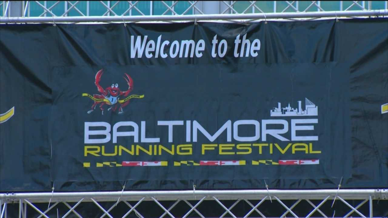 The Baltimore Running Festival is Saturday and 24,000 runners will race through the streets of Baltimore.