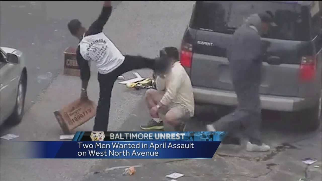 The Bureau of Alcohol, Tobacco, Firearms and explosive is offering a $5,000 reward as it searches for two people accused of assaulting a man during the April riots.