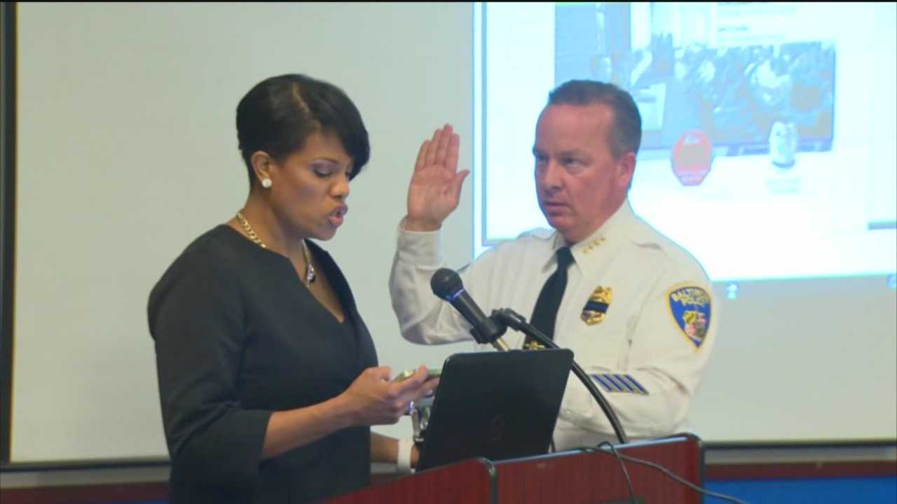 The Baltimore City Council voted Monday to confirm Kevin Davis as police commissioner. City Councilmen Nick Mosby and Carl Stokes were the only two who voted against Davis. Davis has served as interim commissioner since July, when he was selected to replace Anthony Batts. Baltimore Mayor Stephanie Rawlings-Blake presented Davis' formal appointment to the City Council on Sept. 22.