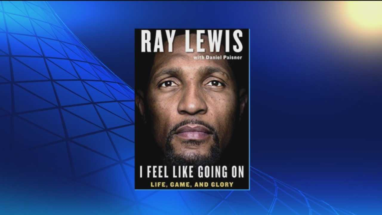 Former long-time Raven Ray Lewis has a new book out Tuesday. Lewis will be signing copies of his book Thursday in Maryland. He will be at the Inner Harbor Barnes and Noble at noon followed by the book store chain's Bel Air location at 6 p.m.