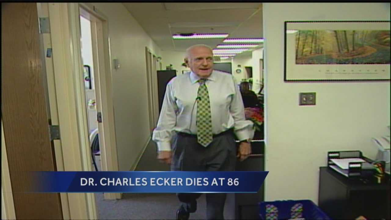 Former Howard County executive and Carroll County school superintendent Charles Ecker has died. He was 86. Ecker switched parties from Democrat to Republican in order to run for Howard County executive, an office he held from 1990 to 1998. He then unsuccessfully ran governor against Ellen Sauerbrey in 1998.