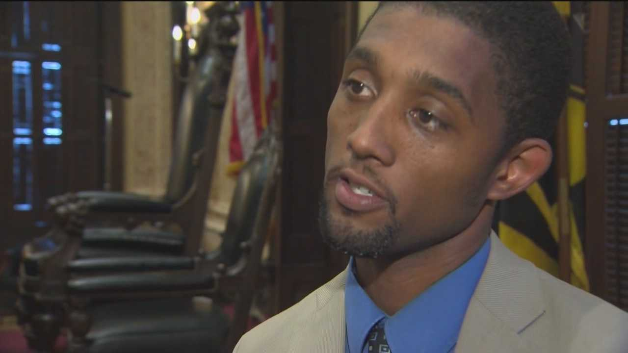 "An open letter written by a Baltimore City Councilman is prompting intriguing questions about the open mayor's seat. Brandon Scott's open letter posted on his website Friday has him dodging one big question. Scott wrote an open letter to Baltimore about a ""plan for leadership,"" saying Baltimore is at its most critical point and needs true leadership."