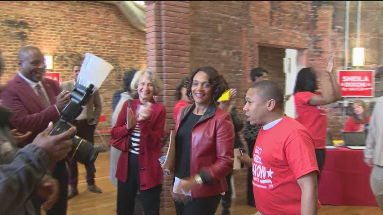 Former Baltimore Mayor Sheila Dixon took another step toward running for her old office. Dixon is one of several people already running for mayor. She opened her campaign headquarters Saturday in Station North, saying she's not worried about the competition and that she's focused on running her campaign. She chose space in the Chesapeake Building, because she said it's easy for people to get to from all parts of the city. She's also planning on opening satellite offices on York Road and one in the Park Heights community. Dixon already has a satellite office in Canton.