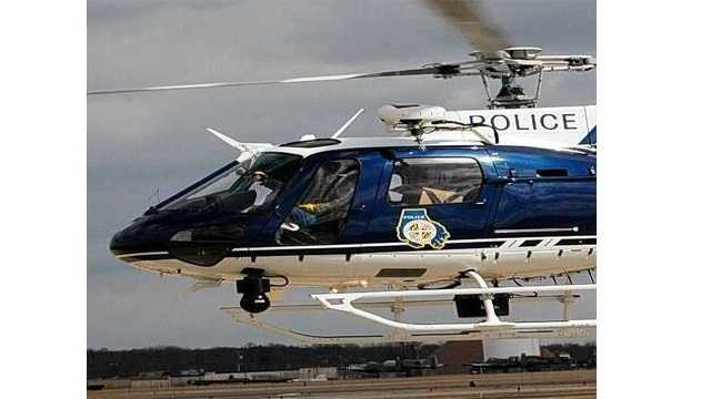 Baltimore County police said they will be conducting training helicopter flights on Oct. 26 and 27 in White Marsh.