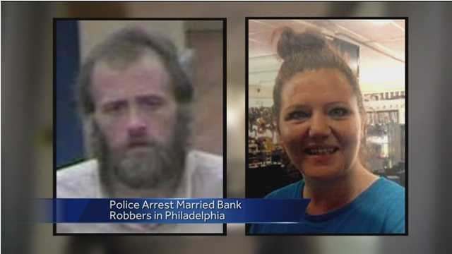 Joseph and Jenny Carrier are suspected in several bunk robberies in multiple states, including in Maryland.